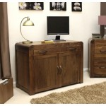 Shiro Walnut Hidden Home Office