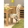 Mobel Oak Upholstered Dining Chair (Pack Of Two)