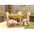 Mobel Solid Oak Dining Table (4 Seater)