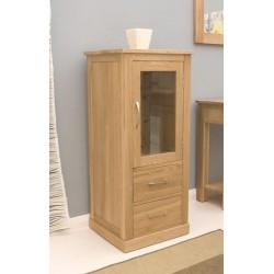 Mobel Oak Hi-Fi Cabinet