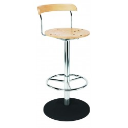 Piazza  Bar Stool Grande Beech